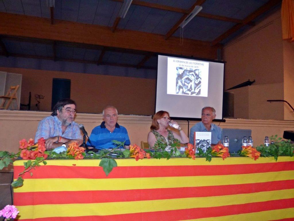 Presentació a la Codonyera de 'El crimen de las Torretas/ Lo crimen de les Torretes'